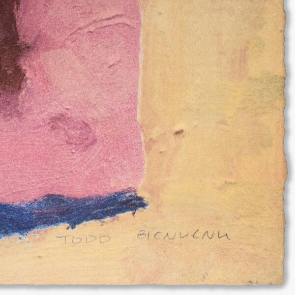 beach-towel-todd-bienvenu-galerie-sebastien-bertrand-jrp-editions-lithograph-signed-artist