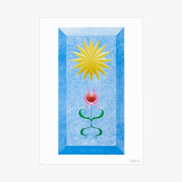 landscape-growth-panel-warm-celestial-blue-jrp-editions-mamco-lithograph-art