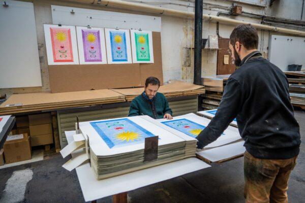landscape-growth-panel-warm-celestial-blue-jrp-editions-mamco-signature-process-contemporary-artist-paris